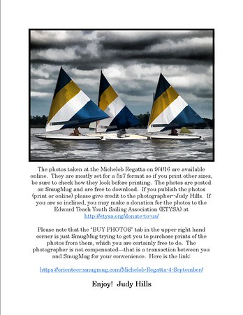 Michelob Regatta 4 September 2016