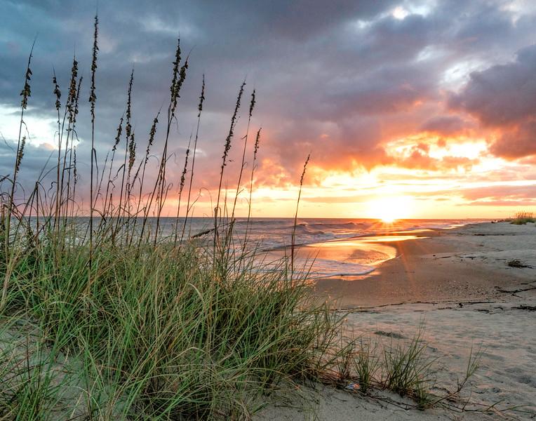 Caswell Beach Sunset