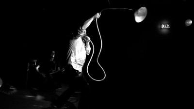 Michi Marchner und Martin Lidl starten den Trompeten-Lausch-Angriff auf ihr Jubiläums Publikum | 25 Jahre Les Derhosen | 19. Oktober im Fraunhofer, München