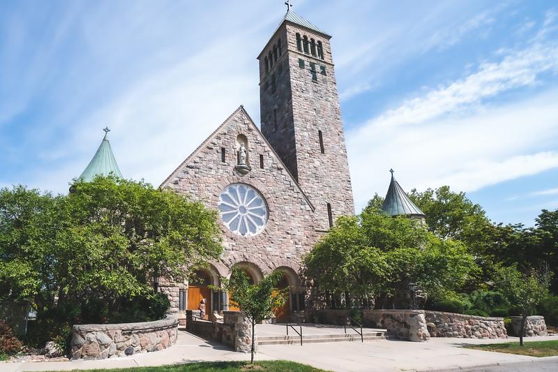 St. Thomas the Apostle Church in Ann Arbor Michigan