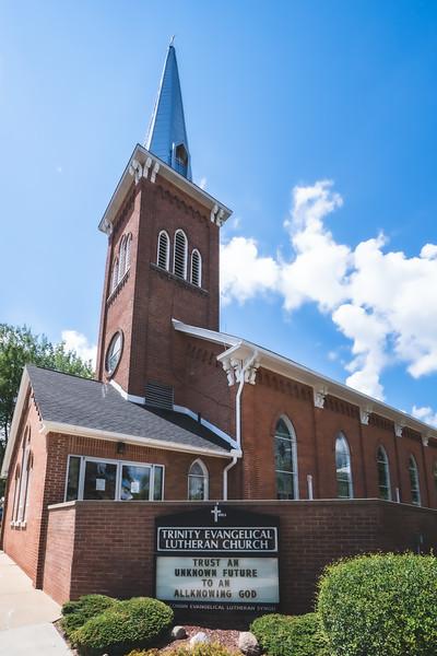 Trinity Evangelical Lutheran Church in Saline Michigan