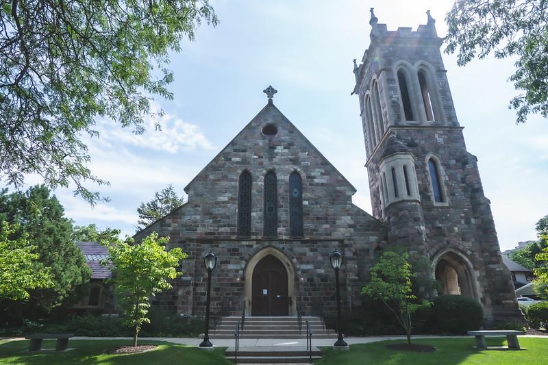St. Andrew's Episcopal Church in Ann Arbor Michigan
