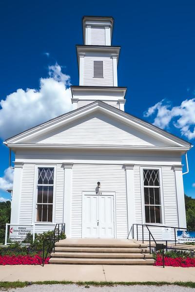 Dixboro United Methodist Church in Ann Arbor Michigan
