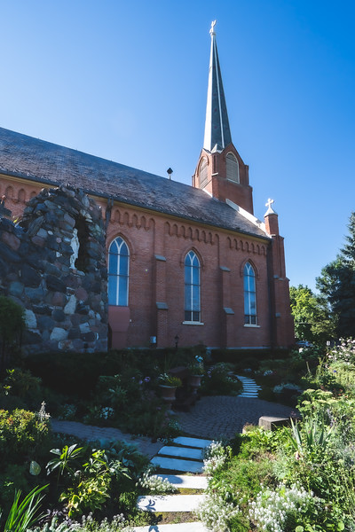 St. Joseph Catholic Church in Dexter Michigan