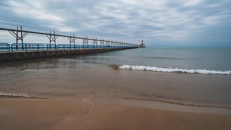 2019 Michigan: Tiscornia Park in St. Joseph and South Beach in South Haven Photo Slideshow