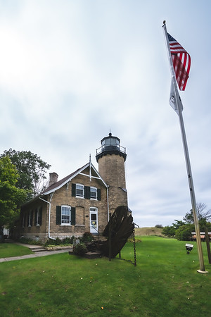 White River Light Station Museum in Whitehall Michigan