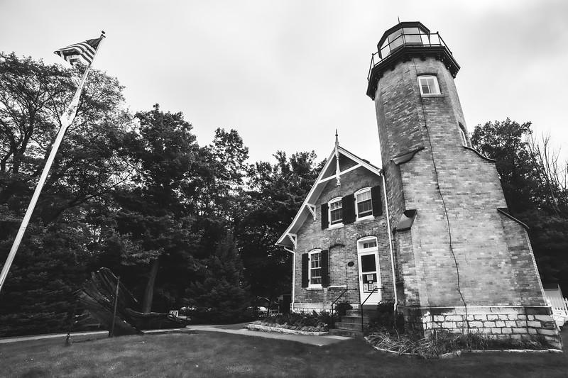 White River Light Station in Whitehall Michigan