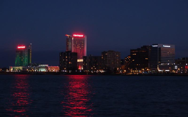 Across the Detroit River