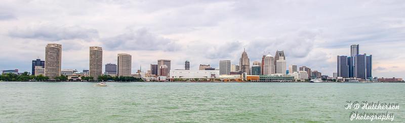 Detroit, MI from Windsor, ON