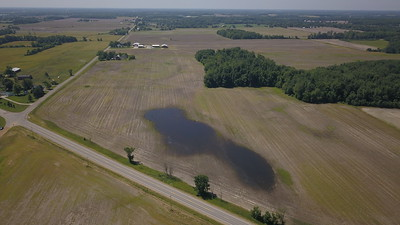 Some of Duane Smuts unplanted farmland in Eaton County.