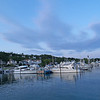 Boats near ferry dock