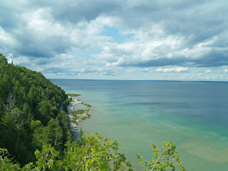 Lake Huron shoreline near Arch Rock