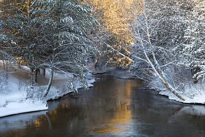 Winter Morning Boardman River