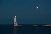 Lunar Eclipse At Frankfort Pier
