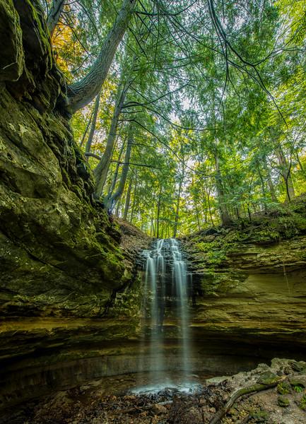 Olson Falls Vertical