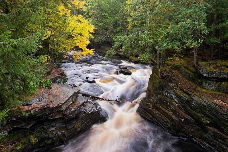 Sturgeon River in Fall