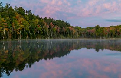 Council Lake at sunrise