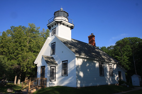 Mission Hills on Old Mission Peninsula in Traverse City Michigan - Old Mission Lighthouse - June 2016