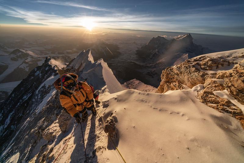 summit push and descent