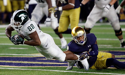 APTOPIX Michigan St Notre Dame Football
