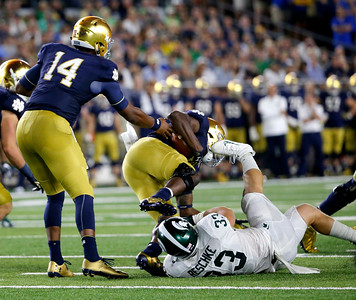 Michigan St Notre Dame Football