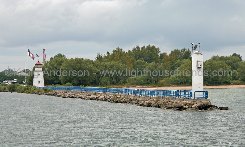 Cheboygan Crib Lighthouse