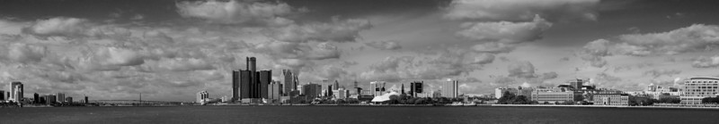 The Riverfront (in Black and White)
