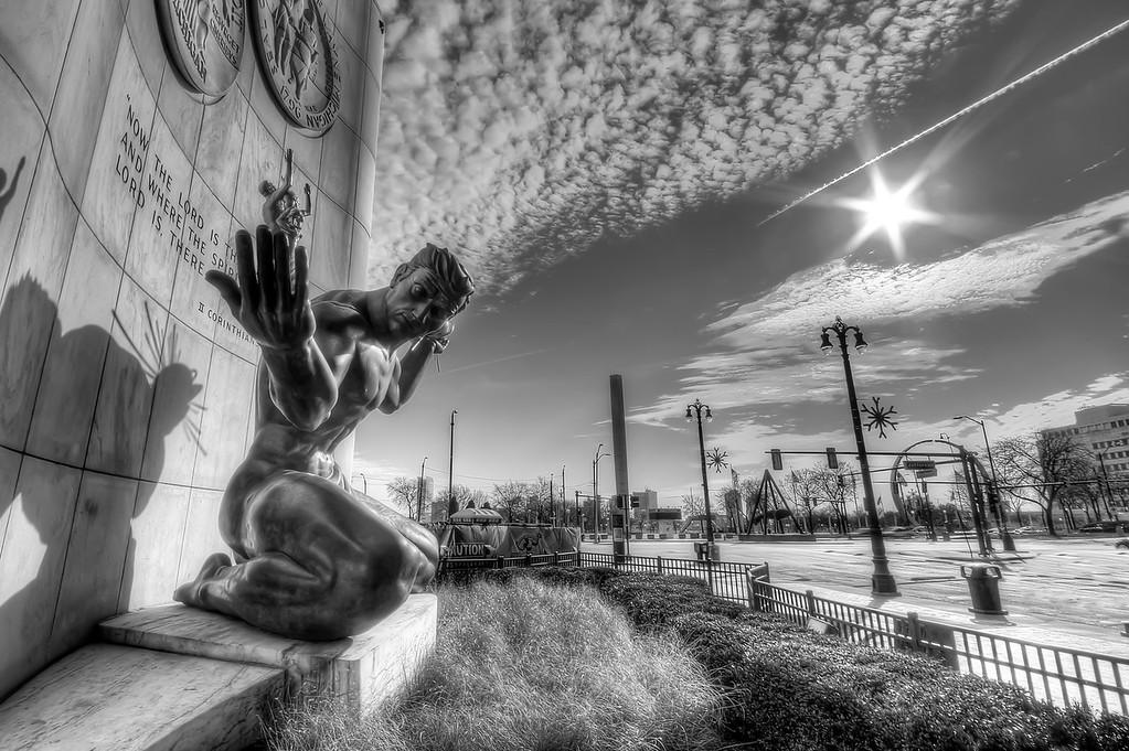 Shining on the Spirit of Detroit