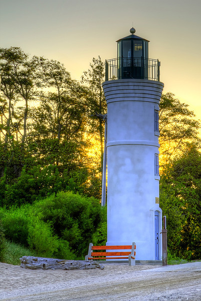 Lighthouse in Morning