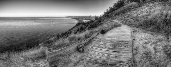 Empire Bluff (in Black and White)
