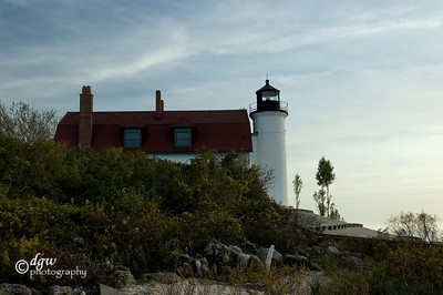 Betse Point Lighthouse Frankfort, Michigan