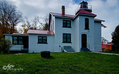 Grand Traverse Lighthouse  Leelanau State Park Northport, Michigan