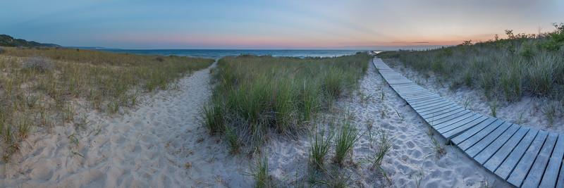 Elberta Beach Panorama