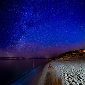 Stars over Frankfort Beach 1x1