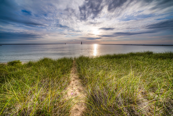 Frankfort Path to the Beach
