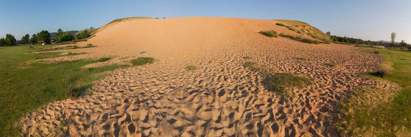 Dune Climb Panorama