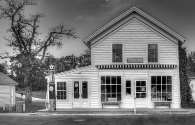 The Post Office (in Black and White)
