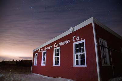 Glen Haven at Night