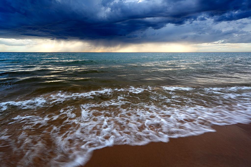 Summer Squall - Esch Road Beach (Sleeping Bear Dunes National Lakeshore - Michigan)