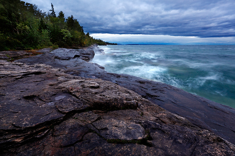 Mercurial Dawn - Five Mile Point (Hiawatha National Forest - Upper Michigan)