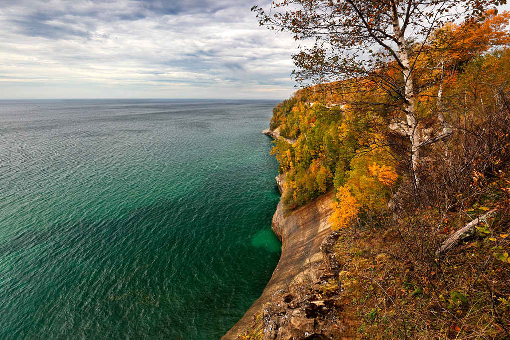 Emerald Fall - Miners Beach Trail (Pictured Rocks National Lakeshore)