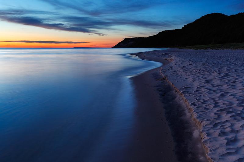 Sleeping Empire - Esch Road Beach (Sleeping Bear Dunes National Lakeshore - Michigan)