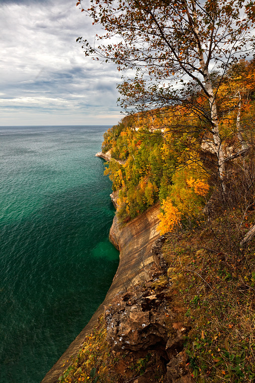 Emerald Fall II - Miners Beach Trail (Pictured Rocks National Lakeshore)