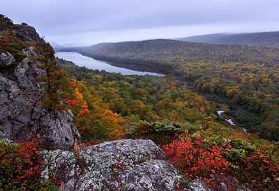 Emergence - Lake of the Clouds (Porcupine Mountains State Park - Upper Michigan)