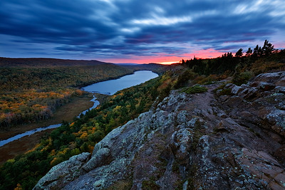 Autumn Dream - Lake of the Clouds (Porcupine Mountains State Park - Upper Michigan)