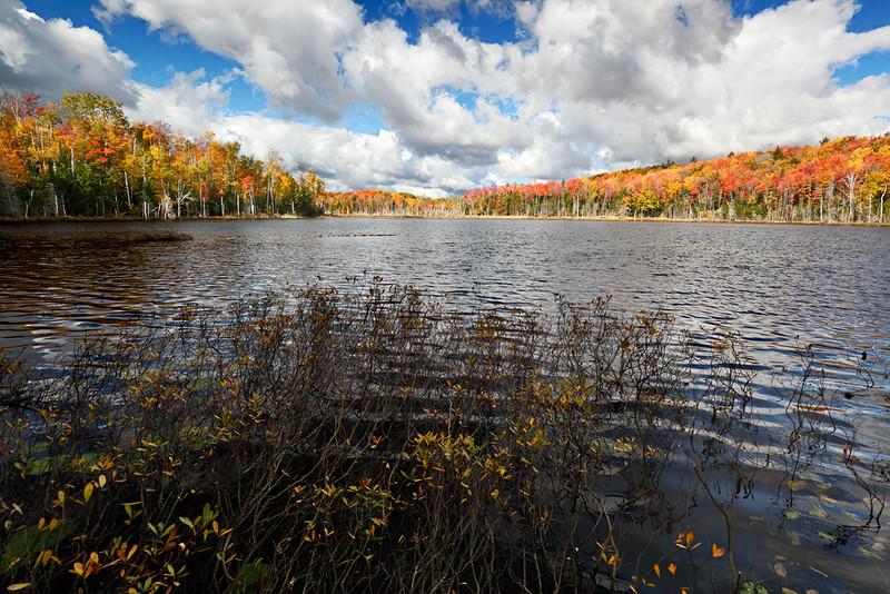 Big Sky Fall - Red Jake Lake (Hiawatha National Forest - Upper Michigan)