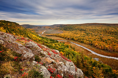 Somber Heights - Big Carp River Valley (Porcupine Mountains State Park - Upper Michigan)