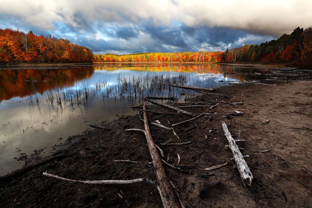 Driftwood Devolve - Thornton Lake (Hiawatha National Forest - Upper Michigan)