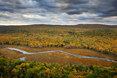 Sullen Serpent - Big Carp River Valley (Porcupine Mountains State Park - Upper Michigan)