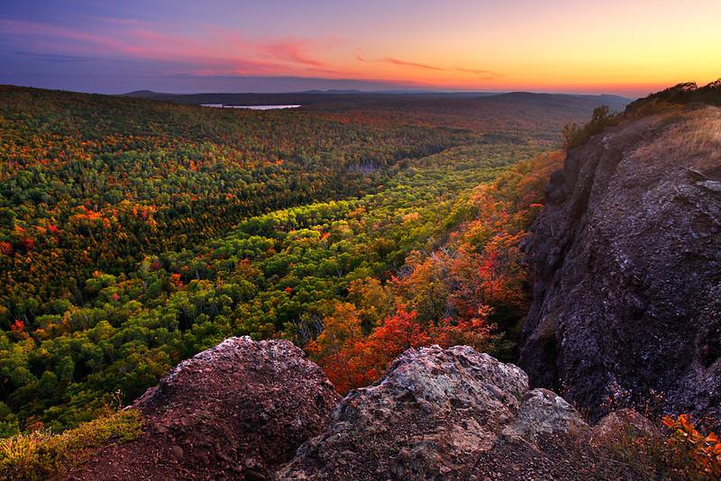 Transient Twilight - Brockway Mountain (Keweenaw Peninsula - Upper Michigan)